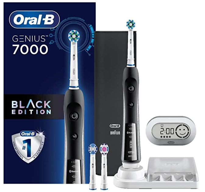 Oral-B Pro 7000 SmartSeries Black Electronic Power Rechargeable Toothbrush