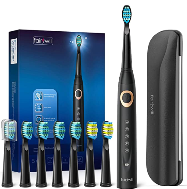 Fairywill Sonic Electric Toothbrush for Adults and Kids 2021
